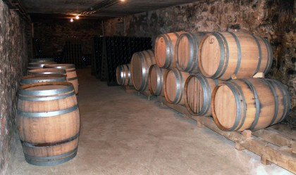 Fûts de chêne chez Champagne Xavier Alexandre