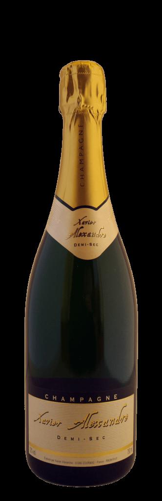 Champagne Xavier Alexandre Demi-sec