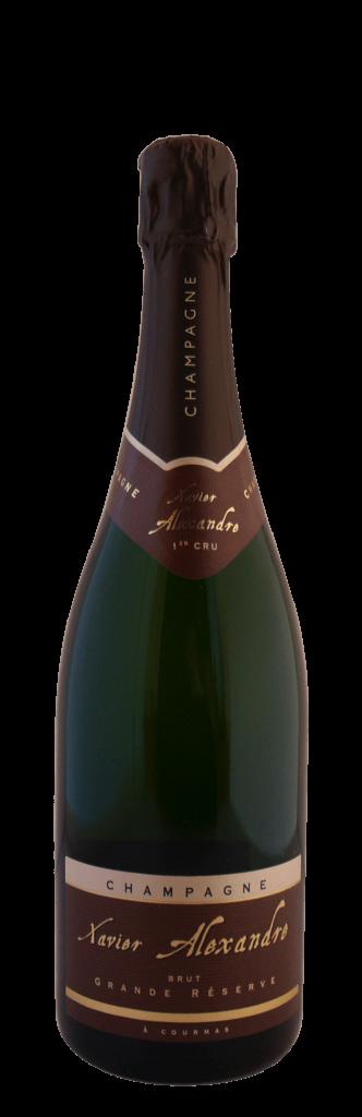 Champagne Xavier Alexandre Grande Réserve brut 1er cru